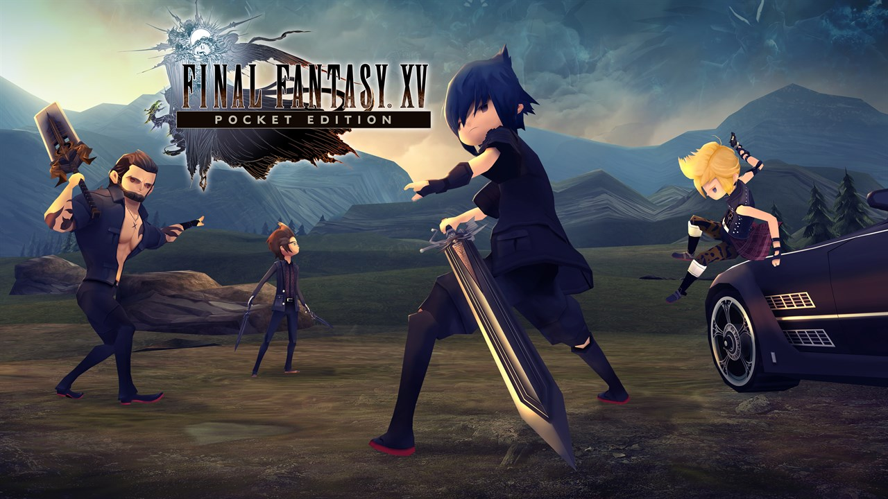 Final Fantasy XV Pocket Edition Released In PS4, XBOX One And Switch With HD Graphic